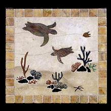 Sea Turtle Tile Murals And Mosaics Pictures And Sample