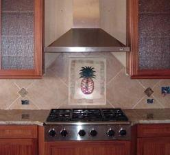 kitchen splash pineapple